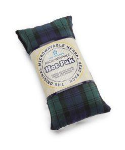 Lavender scented wheat pad in Black Watch Tartan